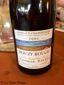 A mon idée Coteaux champenois Bouzy rouge Savès