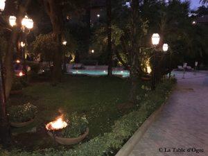Assaje Aldrovandi Jardin et piscine