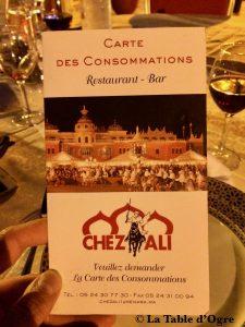 Chez Ali Carte