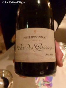 Epicure Bristol Champagne Philipponat Clos des Goisses