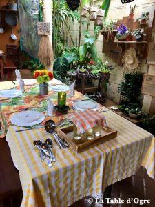 Escale créole Table