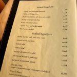 Gli Angeletti Carte entrées bruschette et poissons