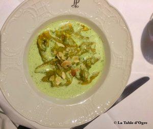 Hôtel Restaurant du Commerce Ravioles d'escargots