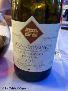 Joséphine-Chez Dumonet Vosne-Romanée Les Beaux-Monts Rion
