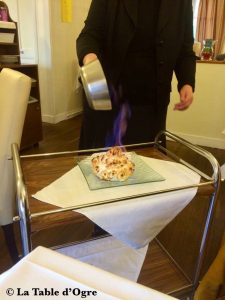 La cigogne d'argent Omelette norvégienne
