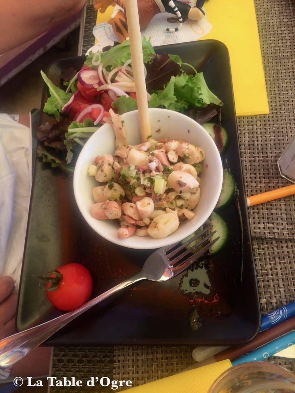 La petite fringale Salade de poulpe