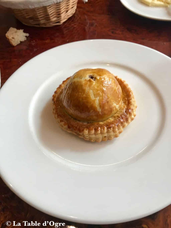 L'assiette Tourte de canard colvert et foie gras