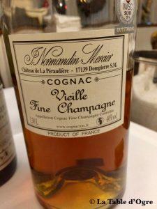 Le coq de la maison blanche Cognac Normandin-Mercier