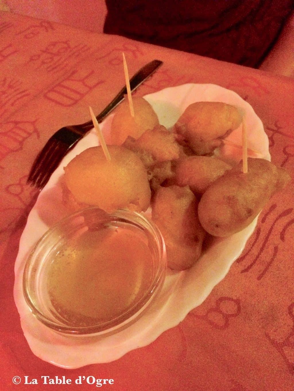 Restaurant Café Pereybere Beignets de crevettes