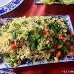 Restaurant Café Pereybere Riz frits légumes