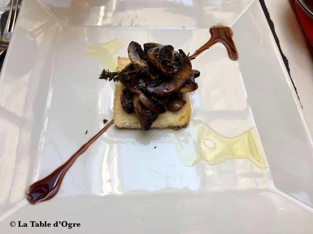 Tri Stoleti Champignons Portobello grillés