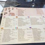 Tri Stoleti Entrées Carte septilingue!