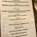 Auberge Le Beauharnais Menu 28 euros