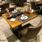 Auberge Le Beauharnais Table