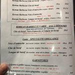 Korean Barbecue Delambre Grillades
