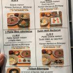 Korean Barbecue Delambre Menu déjeuner