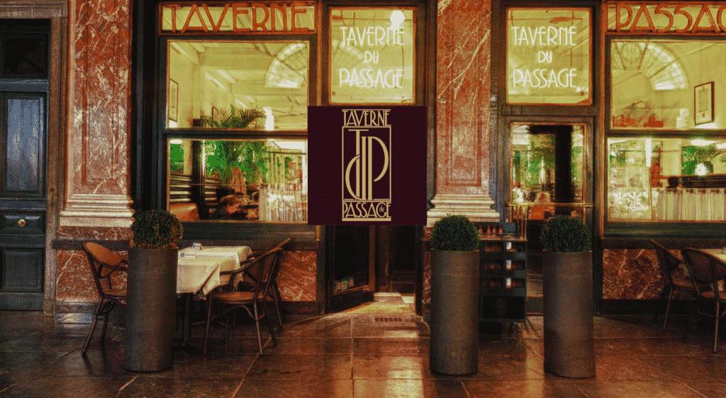 La Taverne du Passage Façade