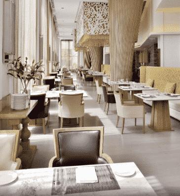 Marriot Agra Momo Café