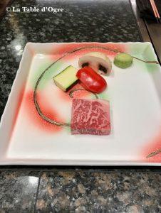 Teppanyaki Ginza Onodera Boeuf Kobé