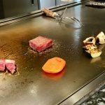 Teppanyaki Ginza Onodera Kobé cuisson