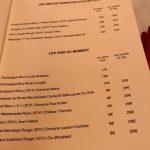 Thoumieux Carte vins du moment