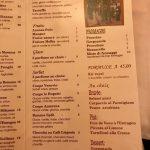 Le Bugatti Carte Desserts