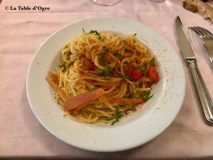 Le Cherche Midi Spaghetti alla chitarra alla buttarga