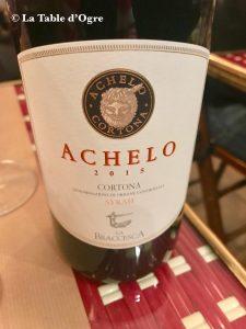 Les Étiquettes Achelo 2015 Cortona
