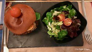 Les Étiquettes Burger canard