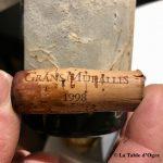 La Truffière Gran Muralles 1998 bouchon