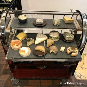 La Truffière Chariot de fromages