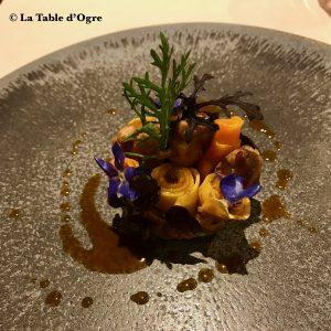 La Truffière Tartelette croquante sot-l'y-laisse de près !