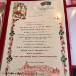 Auberge bressane Carte Printemps