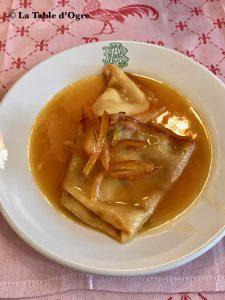 Auberge bressane Crêpes Suzette