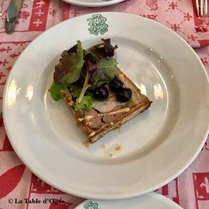 Auberge bressane Pâté du chef