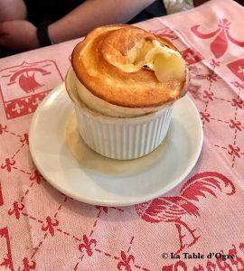 Auberge bressane Soufflé à la pomme