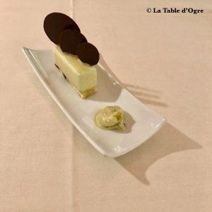 Emporio Armani Ristorante Parfait glacé vanille sorbet pomme