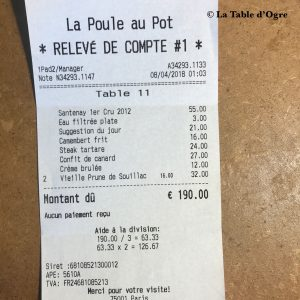 La poule au pot Addition