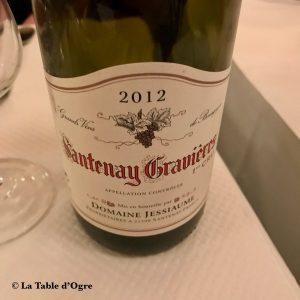 La poule au pot Santenay Gravières 2012