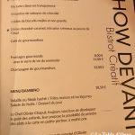 Show Devant Carte desserts