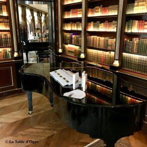 la réserve Piano dans la bibliothèque
