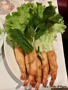 Les trois bonheurs Pâté thaïlandais