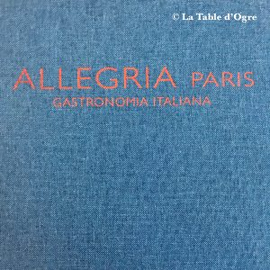 Allegria Paris Carte