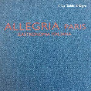 Allegria Paris Carte