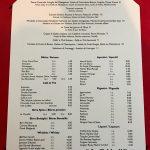 Allegria Paris Carte desserts et boissons