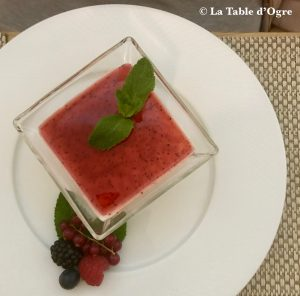 Allegria Paris Panna Cotta