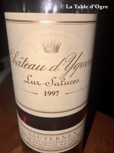 Belleek Castle Sauternes 1997