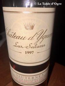 Belleek Castle Sauternes 1997