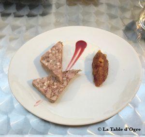 Bistrot Buci Mazarine Terrine de ris de veau