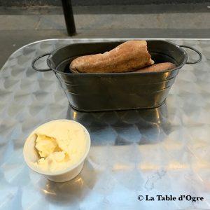 Bistrot Buci Mazarine pain et beurre